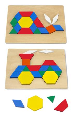 Drewniana Układanka Geometryczna Kształty  Melissa and Doug 10029