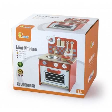 Drewniana   Kuchnia + Akcesoria Viga Toys
