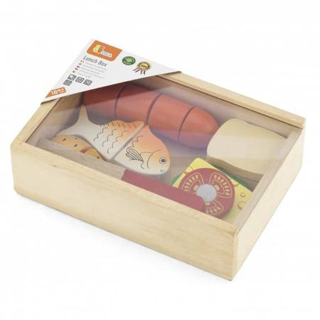 Drewniany Zestaw Lunch Box Viga Toys