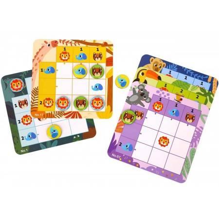Gra Sudoku Dla Dzieci  Las TOOKY TOY