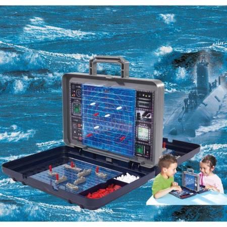 Klasyczna Gra w Okręty Statki Bitwa Morska w Walizce Simba