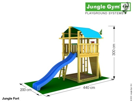 Plac Zabaw Jungle Gym Paradise