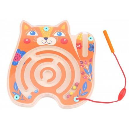 Tablica Zręcznościowa Labirynt Magnetyczny Kot TOOKY TOY