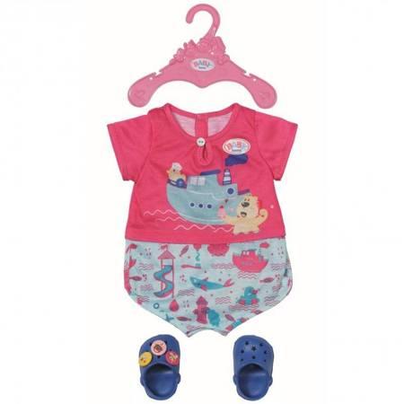 Ubranko Piżama i Buciki dla Lalki 43 cm Baby Born
