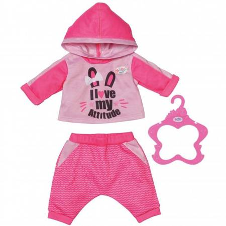 Baby Born Ubranko Dres do Joggingu dla Lalki 43 cm Różowe