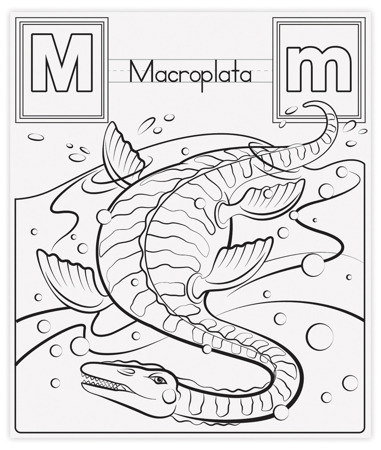 Blok Rysunkowy Kolorowanki Nauka Angielskiego Dinozaury  Melissa and Doug 19111