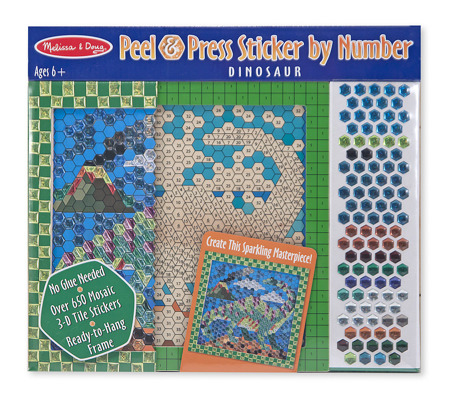 DSC Mozaika Dinozaur  Melissa and Doug 14295