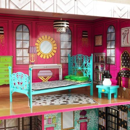 Domek Dla Lalek KidKraft Brooklyn Loft - Światło i Dźwięk 65922