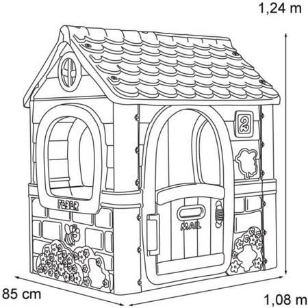 Domek Ogrodowy Sweet Pink