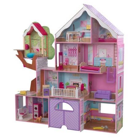 Domek dla lalek - Lawendowa Rezydencja z Domkiem na Drzewie - Kidkraft 10108