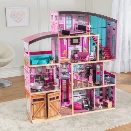 Domek dla lalek Premium - Rezydencja KidKraft Shimmer Mansion 65949