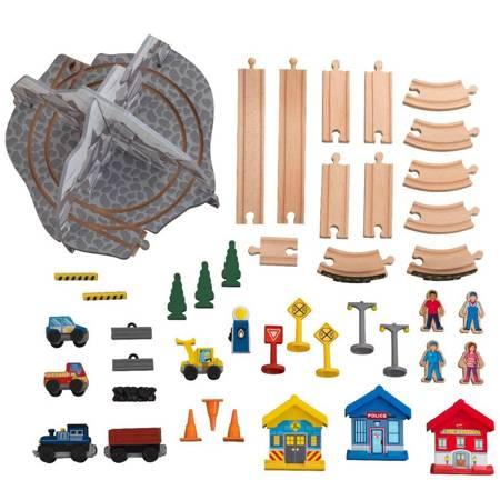 Drewniana Kolejka i Stół Skaliste Wzgórza  KidKraft 10176