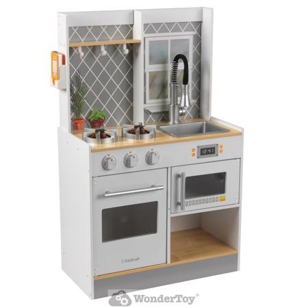 Drewniana Kuchnia Kidkraft Lets Cook Światło i Dźwięk 53395