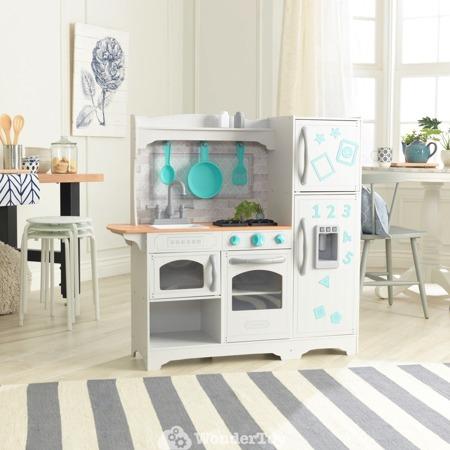 Drewniana Kuchnia dla dzieci Kidkraft Countryside Play Kitchen - Magnetyczne Drzwiczki