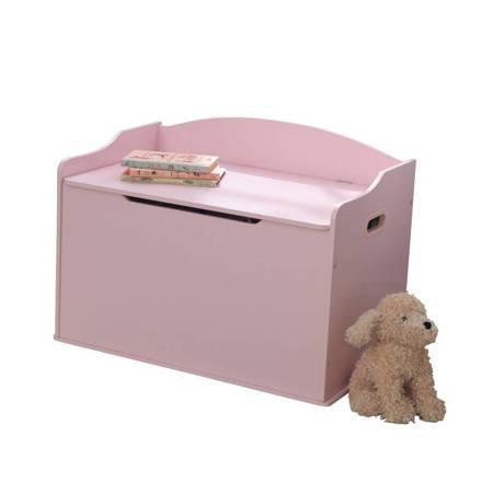 Drewniana Skrzynia na zabawki Austin Różowa  Kidkraft 14957
