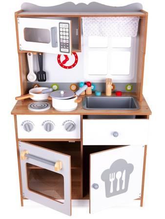 Drewniana kuchnia dla dzieci  Sweet + Akcesoria