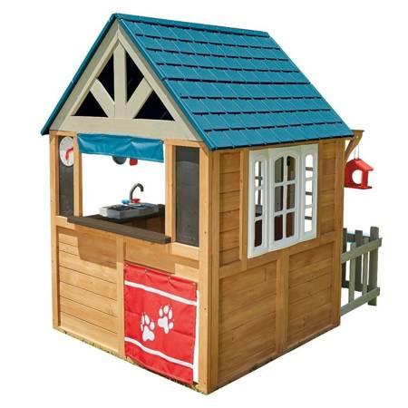 Drewniany Domek Ogrodowy Lakeside Playhouse - Domek Nad Jeziorem Kidkraft