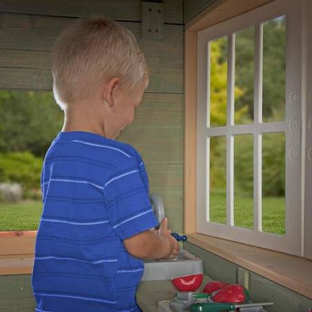 Drewniany Domek Ogrodowy dla dzieci Green Village