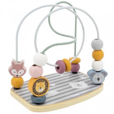 Drewniany Labirynt Pętla Motoryczna  Edukacyjna Viga Toys