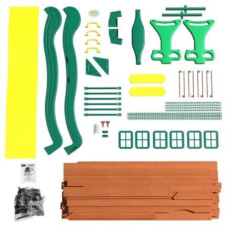 Drewniany Plac Zabaw Spring Borro Backyard Discovery