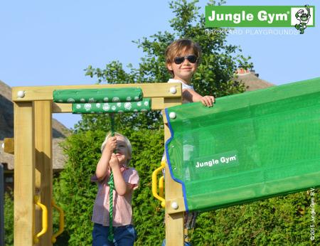 Drewniany Plac zabaw Jungle Gym - Bridge Fort Club