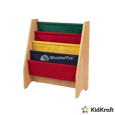 Drewniany Regalik z Kolorowymi Przegrodami Kidkraft 14226