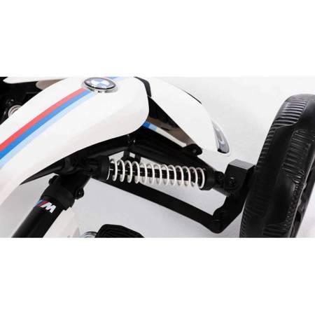 Gokart na pedały Reppy BMW Ciche koła do 40 kg BERG
