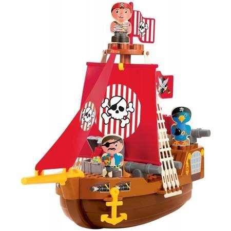 Klocki Zestaw Statek Piracki z figurkami  Ecoiffier