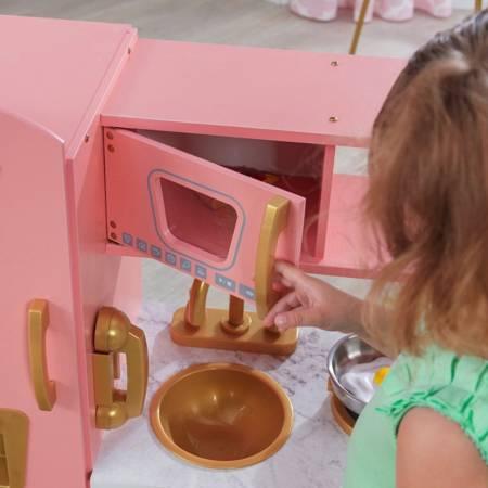 Kuchnia dla dzieci KidKraft Pink And Gold Vintage - Edycja Limitowana 53443