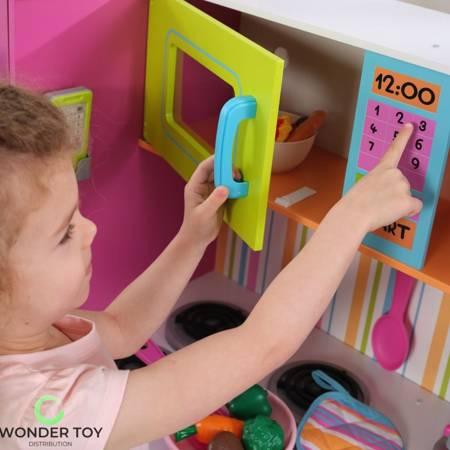 Kuchnia dla dzieci KidKraft Wielka Neonowa Kuchnia 53100