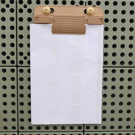 MASTERKIDZ Klips do papieru i markerów 2szt Akcesoria do Tablicy