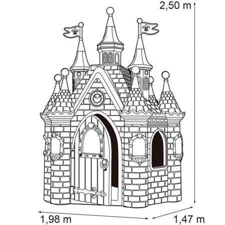 Mega Domek Ogrodowy  Pałac Zamek Kraina Lodu Frozen