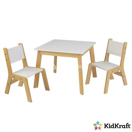 Nowoczesny Stolik z 2 krzesłami Kidkraft