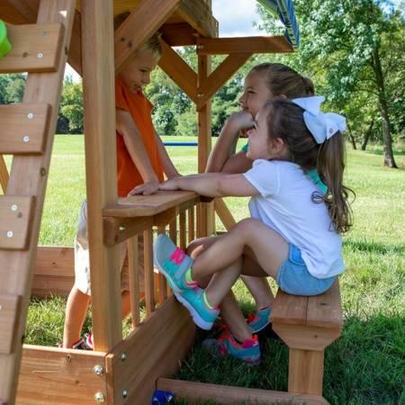 Ogromny Drewniany Plac zabaw Northbrook Backyard Discovery