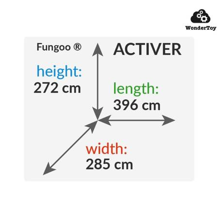 Plac zabaw Activer Grey Wild  FunGoo ®
