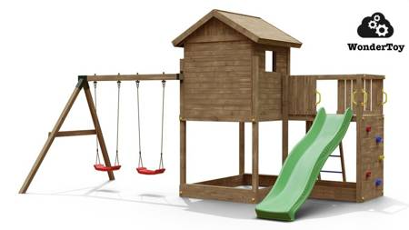 Plac zabaw Galaxy Large Double Swing FunGoo ®