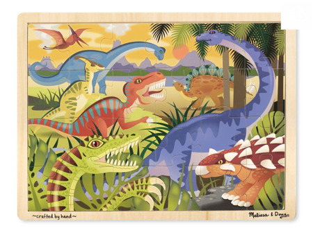 Puzzle Dinozaury  24 el  Melissa and Doug 19066