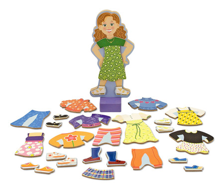 Puzzle magnetyczne Maggie  Melissa and Doug 13552