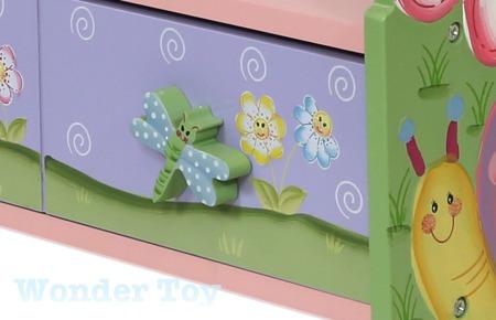 Regał na książki z 2 szufladami Magic Garden