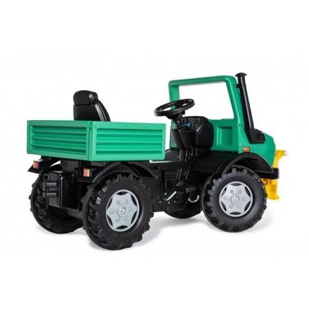 Rolly Toys Ciężarówka Samochód na Pedały  Unimog Mercedes-Benz Wyciągarka