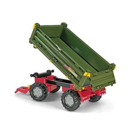Rolly Toys rollyTrailer Przyczepa Rolly Multi dwuosiowa zielona