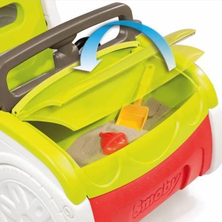 Samochód Hej Przygodo!  ze zjeżdżalnią i piaskownicą