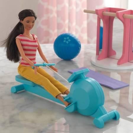 Siłownia dla Barbie Akcesoria do domku dla lalek Kidkraft