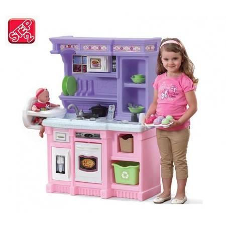 Step2 Interaktywna Kuchnia z Krzesełkiem do Karmienia Światło i Dźwięk