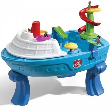 Step2 Stół Wodny Statek  Fiesta Cruise Sand & Water Table