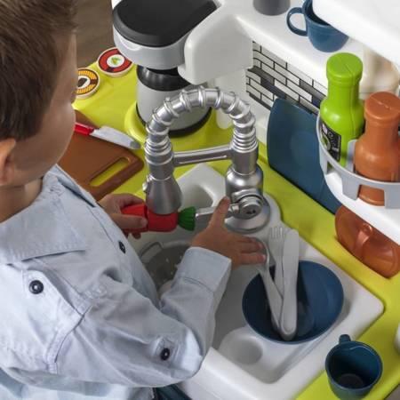 Step2 Stylowa Kuchnia dla Dzieci Elegant + Akcesoria 78 szt + Światło i Dźwięk