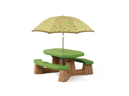 Stół Piknikowy + Parasol Step 2 Naturally Playful Picnic Table with Umbrella 787700