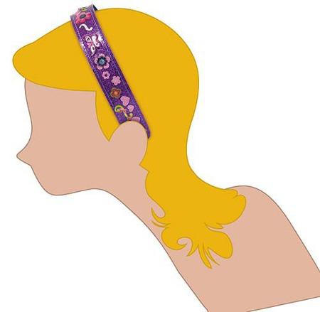 Stwórz Własną Biżuterię Opaski do włosów  Melissa and Doug 15548