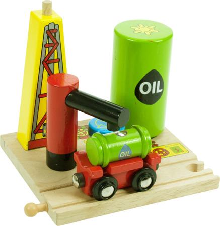 Szyb Naftowy z Wagonem Bigjigs BJT 206