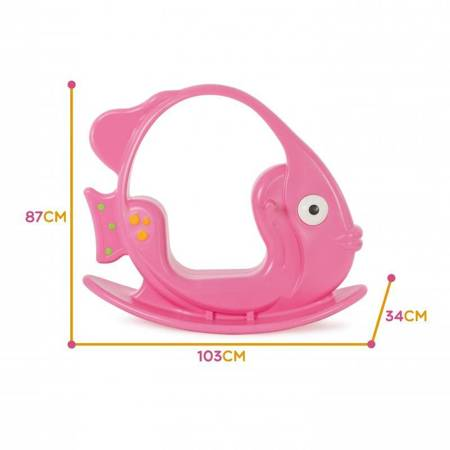 WOOPIE Bujak Rybka Różowa do 35 kg